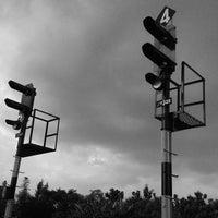 Photo taken at Stasiun Patukan by iyan adit on 4/10/2015