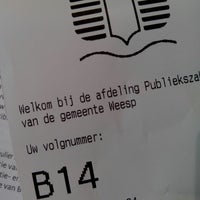 Photo taken at Stadhuis Weesp by Christiaan K. on 2/28/2014