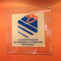 Photo taken at CFIB - Chambre Française de Commerce et d'Industrie de Belgique by Christophe d. on 10/14/2014