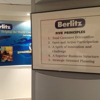 Photo taken at Berlitz by Christophe d. on 2/21/2013