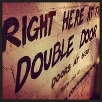 Photo taken at Double Door by Ben S. on 5/19/2013