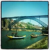 Photo taken at Ponte Dom Luís I by Tiago L. on 5/23/2013