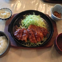 Photo taken at 松阪肉 石かわ 鵜の森店 by Keith K. Y. on 3/11/2013