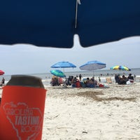 Photo taken at Coligny Beach by Steve P. on 5/30/2017