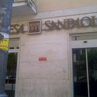 Photo taken at Banca Intesa SanPaolo by Štefan C. on 8/12/2013