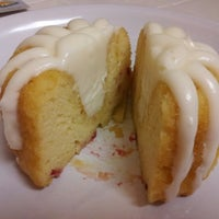 Photo taken at Nothing Bundt Cakes by Emmalouise B. on 10/17/2012