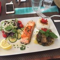Photo taken at Pirata beach by Liliya . on 7/19/2015