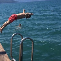 Photo taken at Marmaris Resort Deluxe Pool by Sinan D. on 9/8/2017