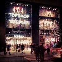 Photo taken at Topshop Topman by Keilon L. on 11/23/2012