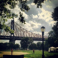 Photo taken at Queensbridge Park by Keilon L. on 7/4/2013