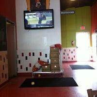 Photo taken at Mooyah Burger by Joey B. on 2/24/2013