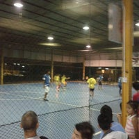 Photo taken at Futsal Centre Tamparuli by Donnary J. on 9/30/2011