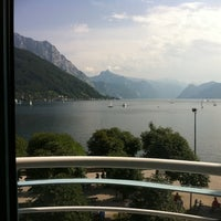 Photo taken at Hotel Traunsee by Torben on 8/3/2011
