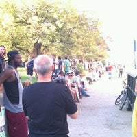 Photo taken at #OccupyIndy by Harrison P. on 10/8/2011