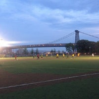 Photo taken at East River Park by Dens on 6/25/2013