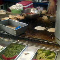 Photo taken at Tacos El Güero by Daniel G. on 6/28/2012