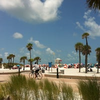 Photo taken at Clearwater Beach by Nicole C. on 7/1/2012