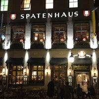 Photo taken at Spatenhaus an der Oper by Maxim B. on 3/29/2012