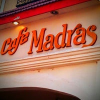 Photo taken at Café Madras by Dharani K. on 3/10/2012
