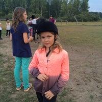 Photo taken at Деревня Гостец by bony on 8/2/2014