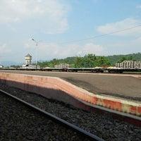 Photo taken at Stasiun Prupuk by M Hanif A. on 5/23/2014