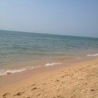 Photo taken at Jomtien Beach by Tanya T. on 1/20/2014