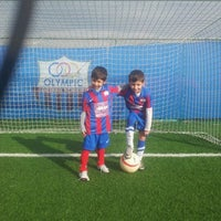Photo taken at Olympic Park (Football Academy) by Thanos P. on 12/8/2012