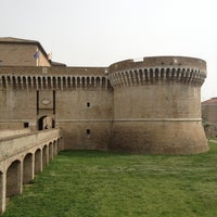 Photo taken at Rocca Roveresca by Giorgio B. on 4/29/2013