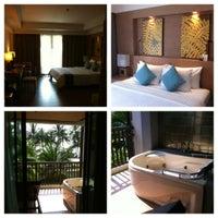 Photo taken at KC Grande Resort & Spa by Anastasia S. on 10/3/2012