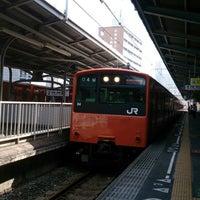 Photo taken at Temma Station by chiaki (. on 10/12/2013