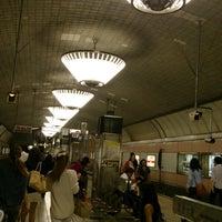 Photo taken at Midosuji Line Shinsaibashi Station (M19) by chiaki (. on 6/5/2013