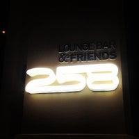 Photo taken at 258 Lounge Bar by Pavel on 10/1/2012