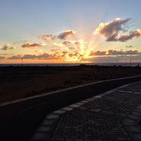 Photo taken at Playa del Castillo by Dasha C. on 9/14/2016
