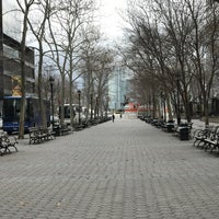 Photo taken at Dag Hammarskjöld Plaza by Kevin R. on 4/1/2017
