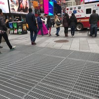 "Photo taken at Max Neuhaus ""Times Square"" by Kevin R. on 4/1/2017"