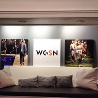 Photo taken at WGSN by Elaine A. on 3/25/2015