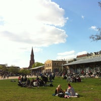 Photo taken at Görlitzer Park by Fabian K. on 4/28/2013