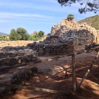 Photo taken at Nuraghe Palmavera by Starpitti on 8/21/2014