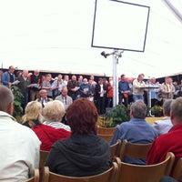 Photo taken at Kirche Serrahn by Matthias M. on 5/19/2013