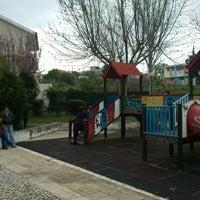 Photo taken at Parque Urbano de Via Rara by Rui Pedro M. on 3/9/2014