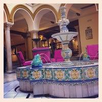 Photo taken at Hotel Tryp Sevilla Macarena by Julián M. on 11/4/2012