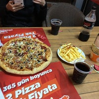 Photo taken at Pizza Pizza by Buse Ö. on 3/13/2016