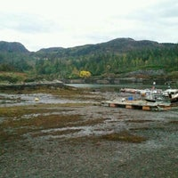Photo taken at Plockton Harbor by Marie L. on 10/22/2016
