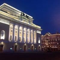 Снимок сделан в Александринский театр пользователем Nicholas S. 6/26/2013