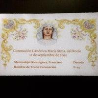 Photo taken at Real Hermandad Nuestra Señora del Rocío (Málaga) by Curro M. on 8/29/2015