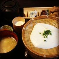 Photo taken at 岡本とうふ店 by Yuki S. on 9/15/2013