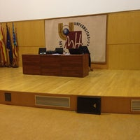 Photo taken at Aula Magna by Vitaly P. on 12/12/2013