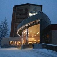 Photo taken at Grand Hotel Bellevue by Oksana on 1/23/2013