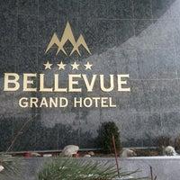 Photo taken at Grand Hotel Bellevue by Oksana on 1/25/2013