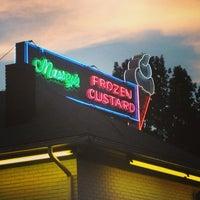 Photo taken at Massey's Frozen Custard by Brittany on 7/14/2013